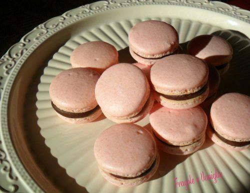 Macarons a la ganache au chocolat