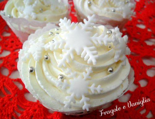 Cupcakes Fiocco di Neve