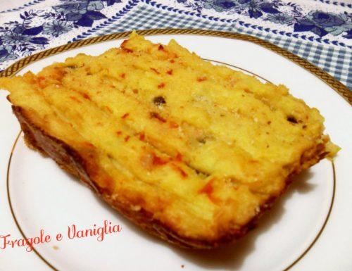 Pitta di patate rustica