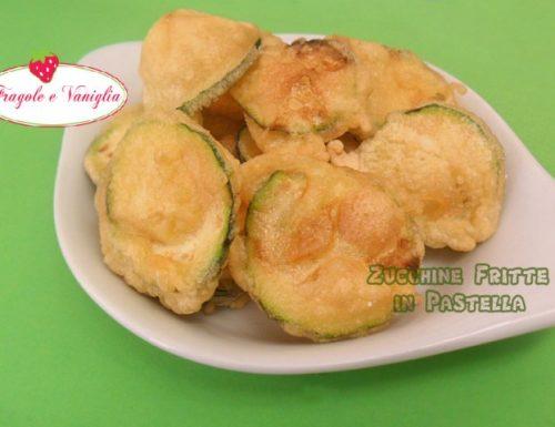 Zucchine Fritte in Pastella