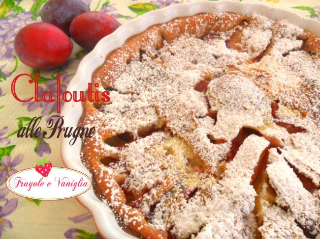 Clafoutis alle prugne