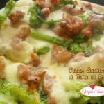 Pizza Salsiccia e Cime di Rapa