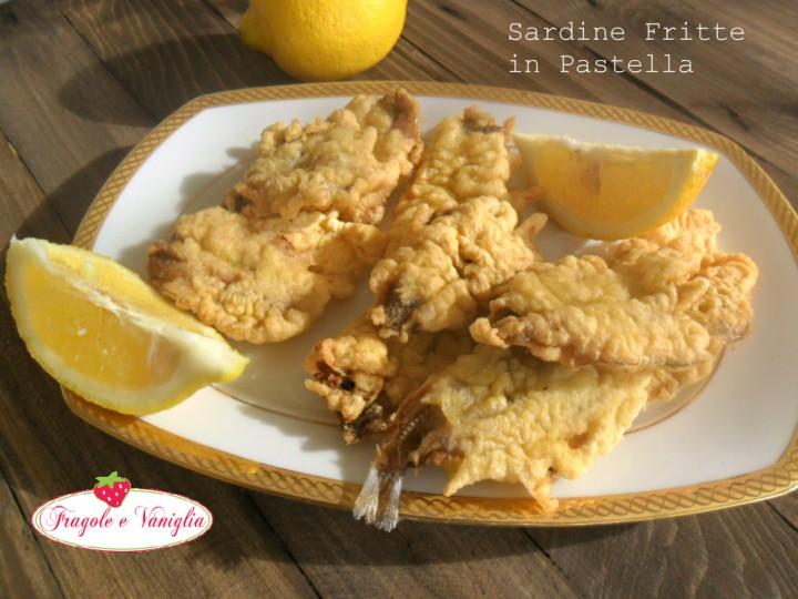 Sardine Fritte in Pastella
