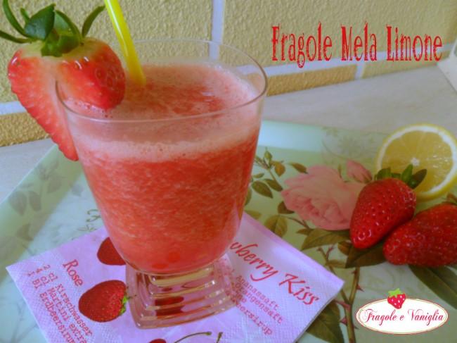 Succo Fragole Mela Limone