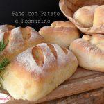 Pane con patate e rosmarino 3