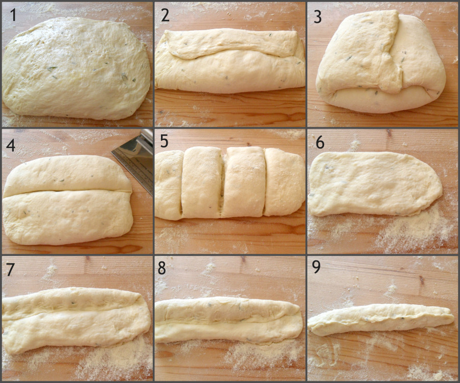 Pane con patate e rosmarino