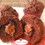 Muffin al Cioccolato col cuore di Nutella