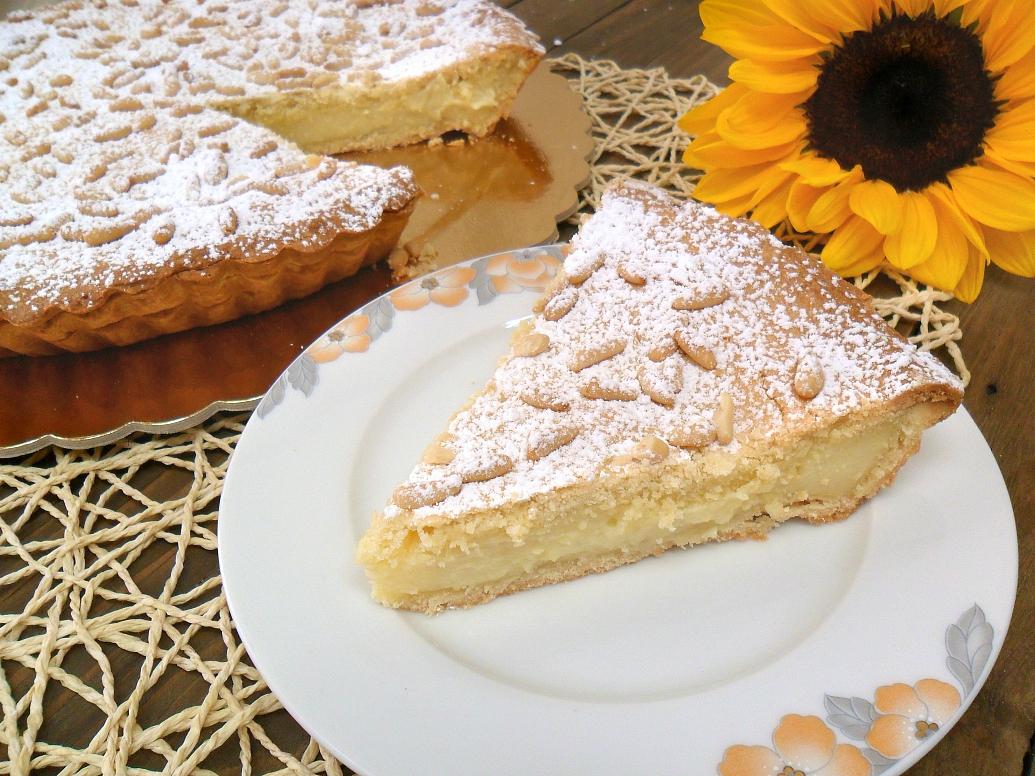 Torta della nonna sloppina in cucina fragole e vaniglia - Cucina fanpage ricette ...