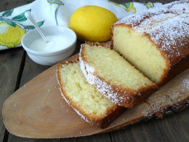 Plumcake al Limone e Yogurt