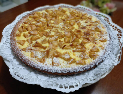 Crostata Di Mele Normanna