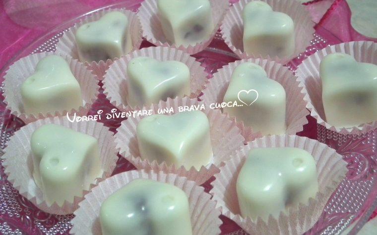 Cuori di cioccolato ripieni