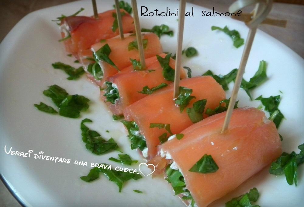 Rotolini al salmone