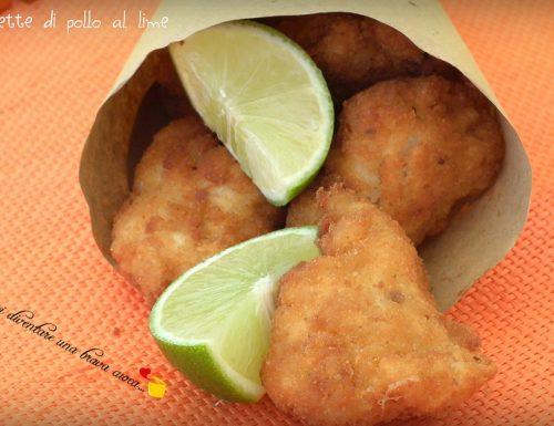 Crocchette di pollo al lime