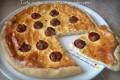 Torta rustica con ricotta e pomodori ripieni