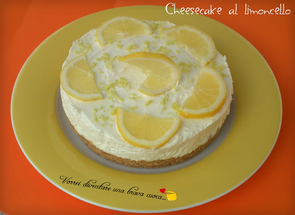 Cheesecake al limoncello