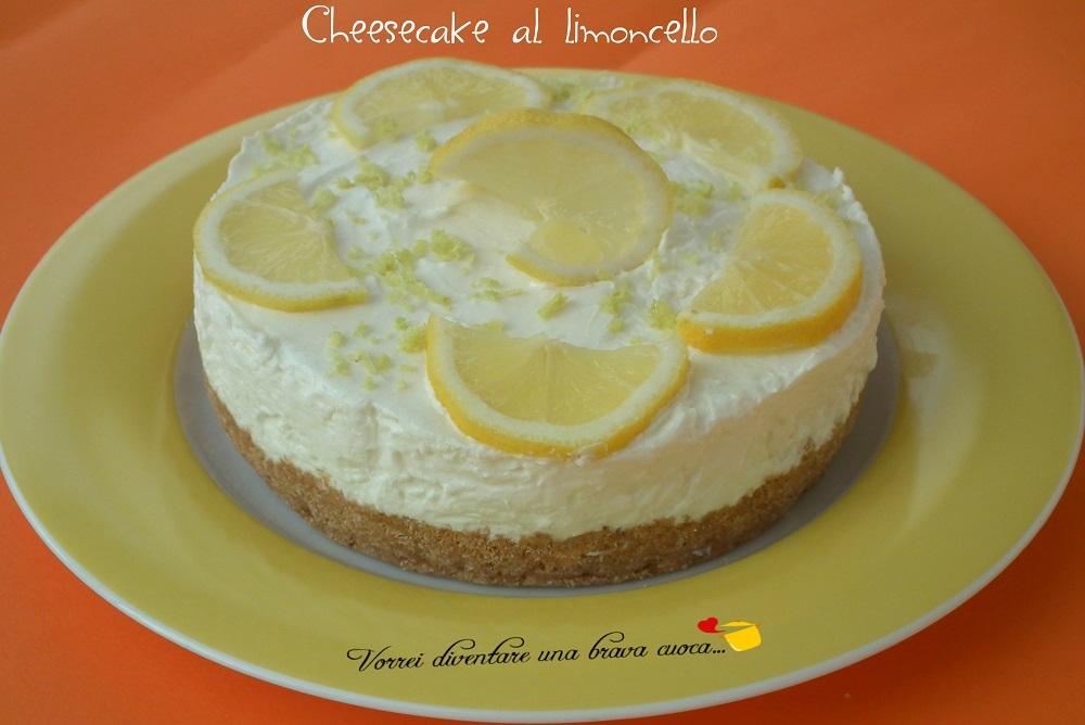 Cheesecake al limoncello2