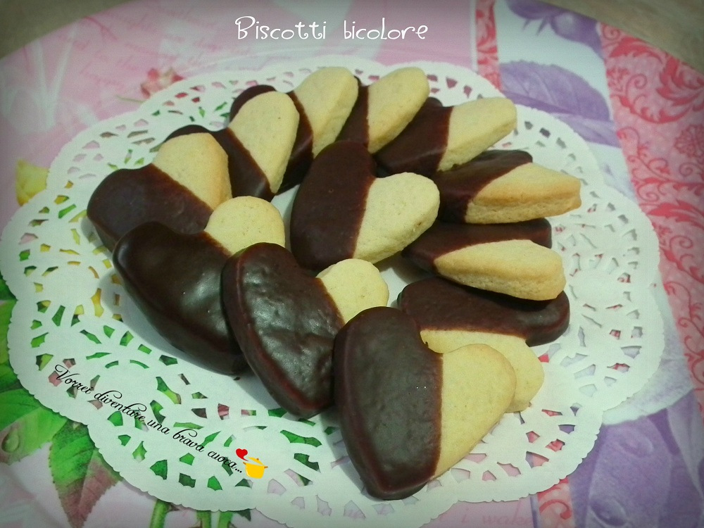 Biscotti bicolore