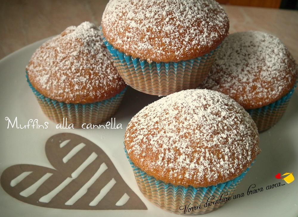 Muffins alla cannella