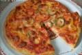 Pizza ai tre peperoni