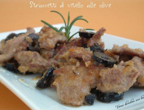 Straccetti di vitello alle olive