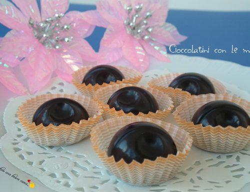 Cioccolatini con le mandorle