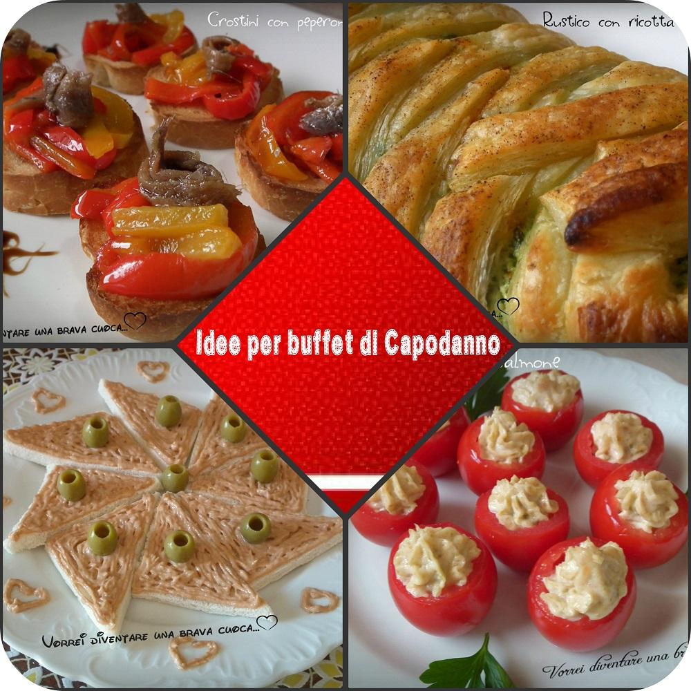 Idee per buffet di Capodanno