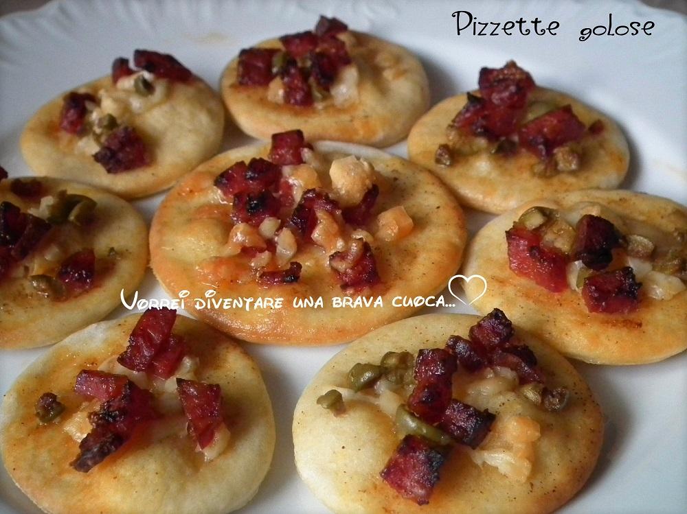Pizzette golose