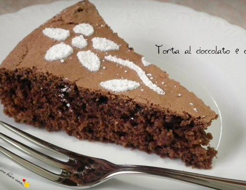 Torta al cioccolato e cannella