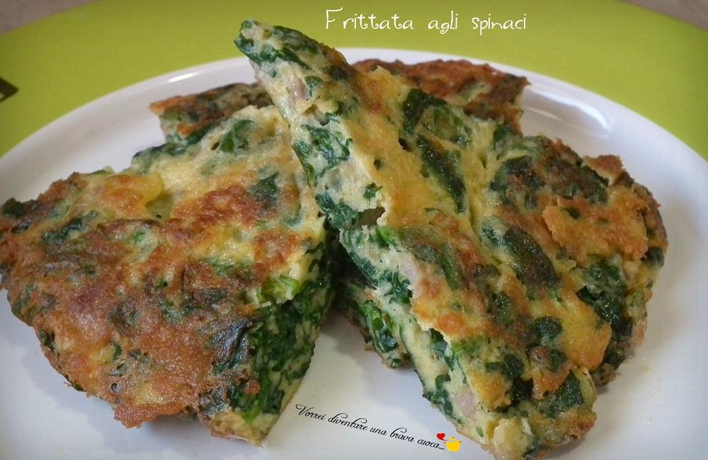 Frittata agli spinaci