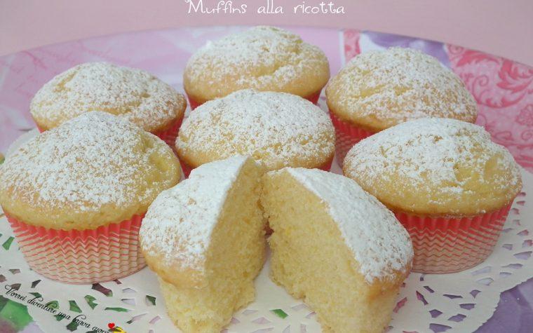 Muffins alla ricotta