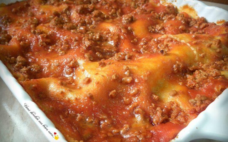 Lasagne con sugo di macinato