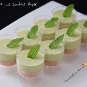 Cheesecake alle zucchine finger