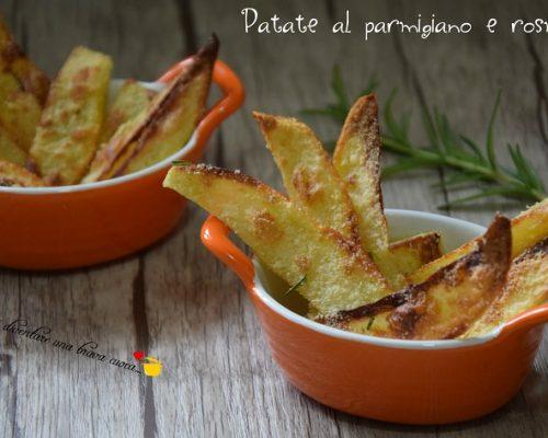 Patate al parmigiano e rosmarino