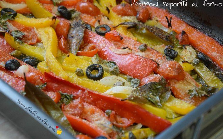 Peperoni saporiti al forno