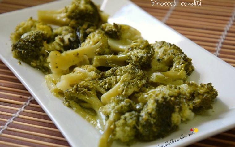 Broccoli conditi