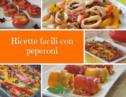 Ricette facili con peperoni