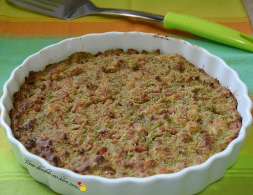Torta rustica ai carciofi