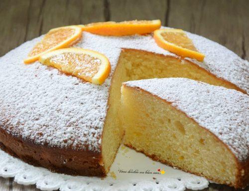 Torta arancia e yogurt