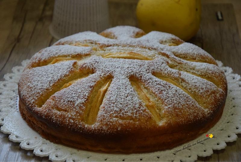 torta con mele e ricotta