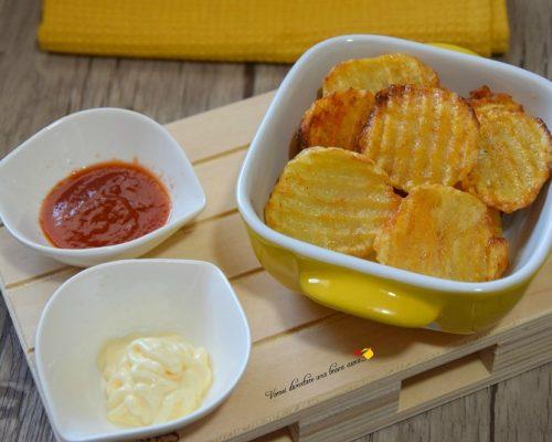 Patatine alla paprica al forno