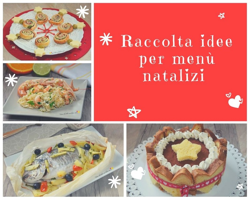raccolta idee per menù natalizi