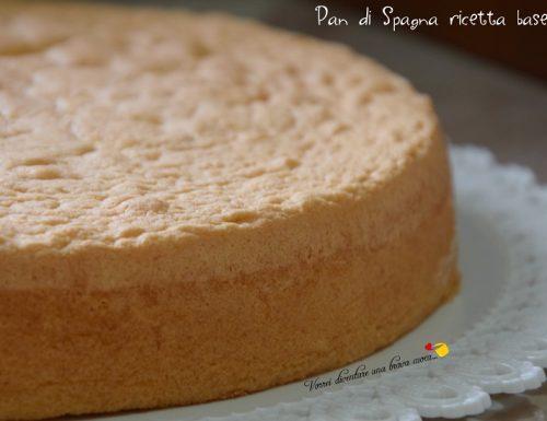 Pan di Spagna ricetta base
