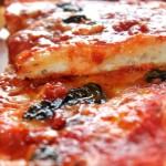 Pizza con lievito madre.