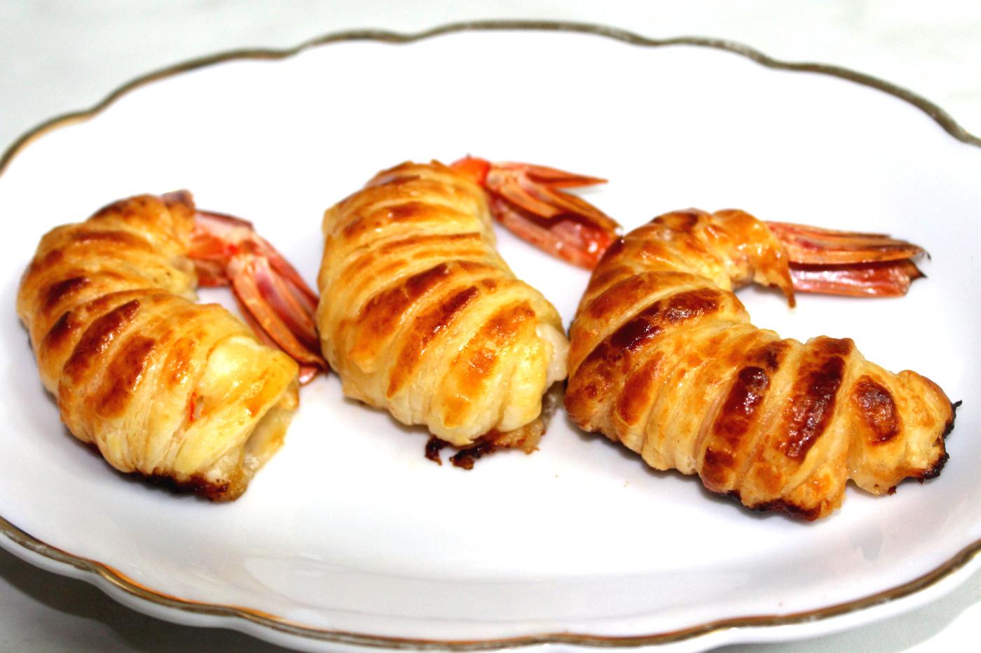 Gamberoni in pasta sfoglia la cucina del cuore - La cucina del cuore ...