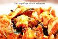 Petto di pollo in salsa di melanzane