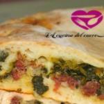 Pizza salsiccia  friarielli e provola