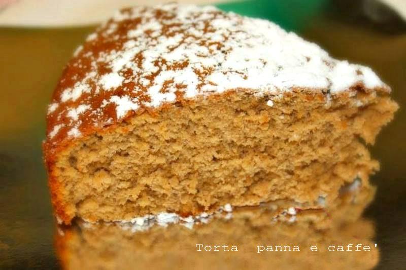 Torta panna e caffé