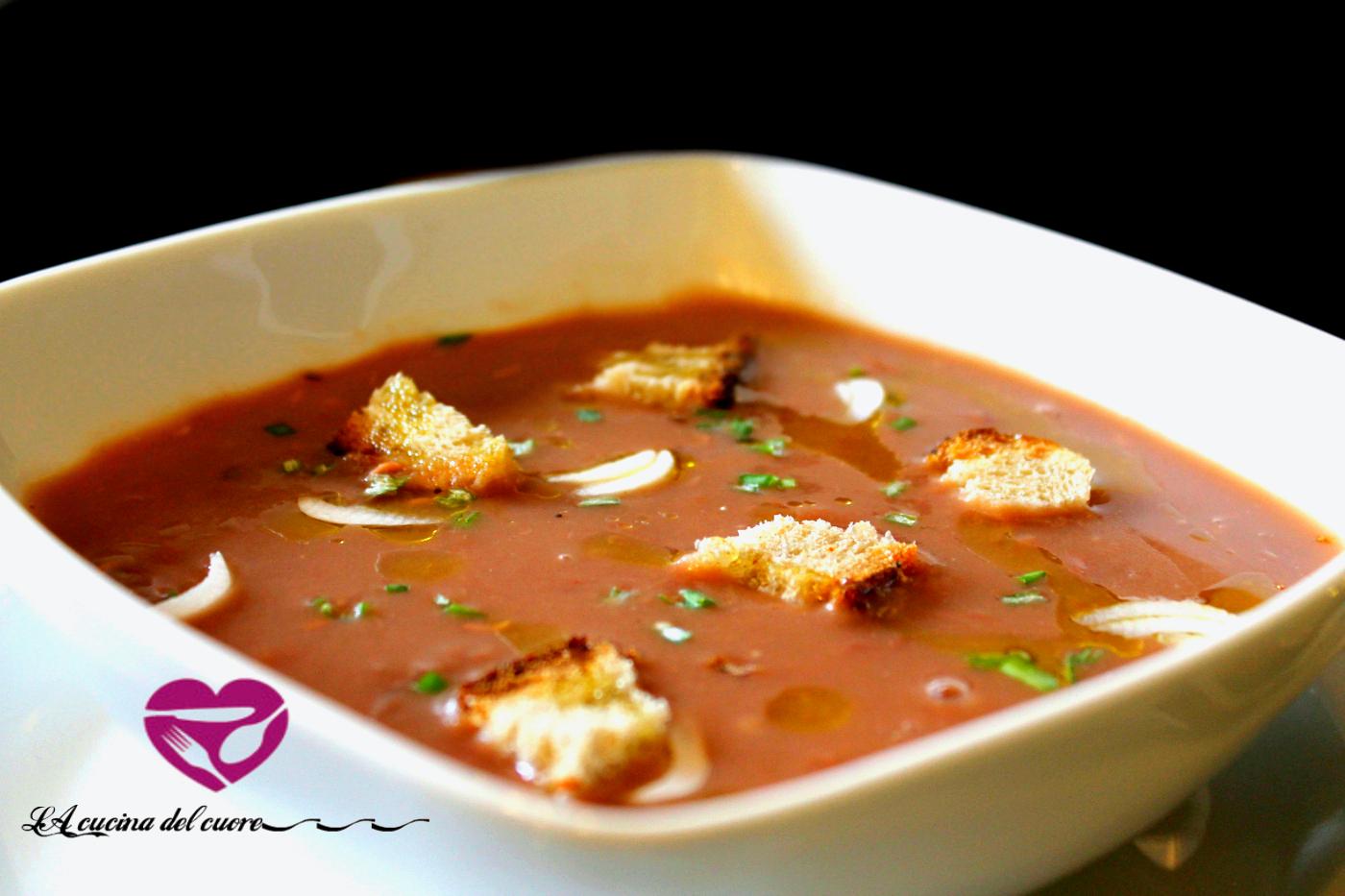 Vellutata di fagioli e patate la cucina del cuore - La cucina del cuore ...