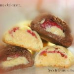 Biscotti crema e fragola