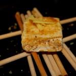 Tiramisù di formaggio allo zenzero